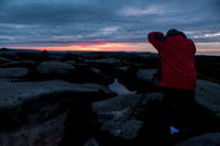 Shooting Stanage Sunset
