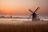 Herringfleet Misty Sunrise